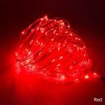 Гирлянда светодиодная String LIGHT 10 метров (красная)