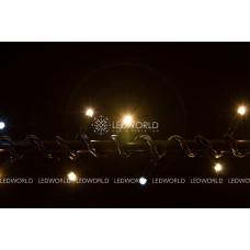 Гирлянда светодиодная String LIGHT 10 метров (с мерцанием/вспышкой)