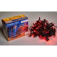 Гірлянда зовнішня DELUX ICICLE 108 LED 2x1m 27 flash червоний/чорний IP44 EN