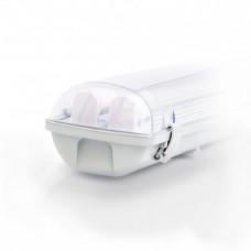 Светодиодный светильник EVRO-LED-SH-2*10, 6400К с лампами 2*600мм
