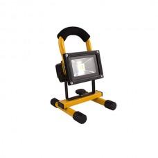 Переносной светодиодный прожектор 10w 850Lm 6500K