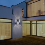 LED светильник садово-парковый Wall Lamp 2*3 4000K 90H DG