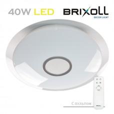 Светодиодный потолочный светильник с пультом управления Brixoll 40W (BRX-40W-002)