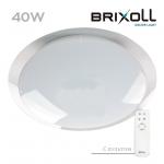 Светодиодный потолочный светильник с пультом управления Brixoll 40W (BRX-40W-023)