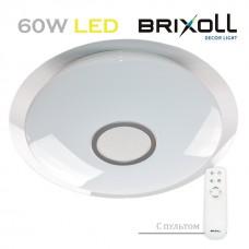 Светодиодный потолочный светильник с пультом управления Brixoll 60W (BRX-60W-003)
