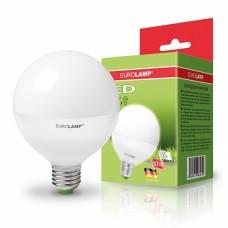 """Светодиодная EUROLAMP LED Лампа """"Шар"""" ЕКО G95 15W E27 3000K"""