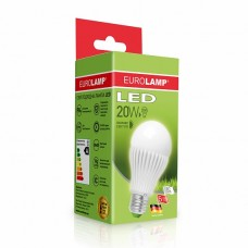 EUROLAMP LED Лампа ЕКО А65 20W E27 4000K