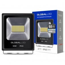 LED ПРОЖЕКТОР GLOBAL FLOOD LIGHT 50W 5000K ХОЛОДНЫЙ СВЕТ(1-LFL-004)