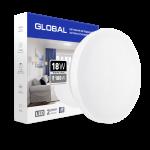 Светильник накладной GLOBAL 18W 4100K