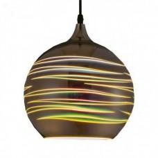 Светильник подвесной LASER Е27 3D-эффект (круглый)