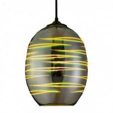 Светильник подвесной LASER Е27 3D-эффект (овальный)