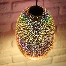 Светильник подвесной QUANTUM Е27 3D-эффект (овальный)