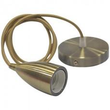 Подвесной светильник EDISON Horoz Electric (медь, бронза, золото, хром)