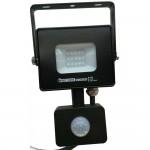 Светодиодный прожектор с датчиком движения PUMA-10, 10W, 6400K