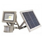 Прожектор на солнечной батарее с датчиком движения LMP-20, 20W, 6500K