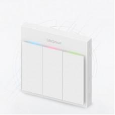 Умный трёхклавишный выключатель BLEND Light Switch LS057WH