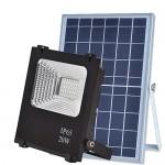 Прожектор на солнечной батарее VARGO 20W с пультом