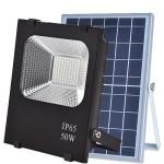 Прожектор на солнечной батарее VARGO 50W с пультом