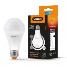 LED лампа VIDEX A65eD3 15W E27 4100K 220V с регулировкой яркости