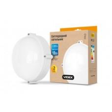 LED светильник (ЖКХ) круглый VIDEX 18W 5000K 220V белый