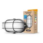 LED светильник (ЖКХ) овальный VIDEX 12W 5000K 220V (усиленный)