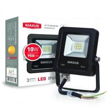 Светодиодный прожектор MAXUS 10W 5000K