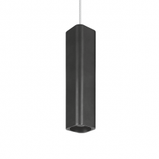 Подвес Maxus 6W яркий свет, 180MM квадратный черный (1-FPL-004-02-S-BK)