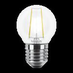 LED лампа MAXUS (филамент), G45, 4W, яркий свет,E27 (1-LED-546) (NEW)