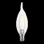 LED лампа MAXUS (филамент), C37 TL, 4W, мягкий свет,E14 (1-LED-539) (NEW)