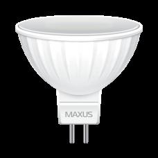 LED лампа MAXUS MR16 5W яркий свет 220V GU5.3 AP (1-LED-512) (NEW)