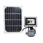 Прожектор на солнечной батарее с датчиком движения LMP-10, 10W, 6500K
