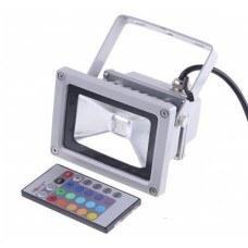 Светодиодный прожектор RGB LR-10, 10W