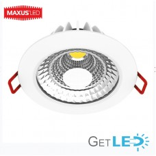Диммируемый SDL MAXUS LED светильник 6W мягкий свет (1-SDL-003-D)