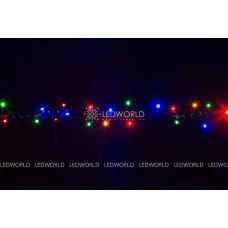 Гирлянда светодиодная String LIGHT 10 метров (разноцветная)