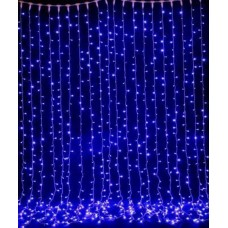 Уличная гирлянда GetLED 3x3m синий свет IP44