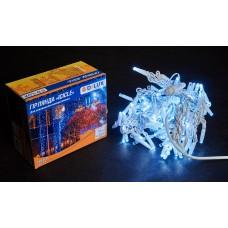 Гірлянда зовнішня DELUX ICICLE 108 LED 2x1m 27 flash білий/білий IP44 EN