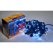 Гірлянда зовнішня DELUX ICICLE 108 LED 2x1m 27 flash білий/чорний IP44 EN