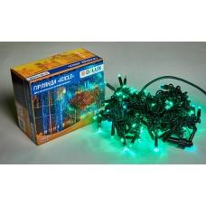 Гірлянда зовнішня DELUX ICICLE 108 LED 2x1m 27 flash зелений/чорний IP44 EN