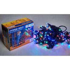 Гірлянда зовнішня DELUX ICICLE 108 LED 2x1m 27 flash мульти/чорний IP44 EN
