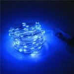 Гирлянда светодиодная String LIGHT 10 метров (синяя)