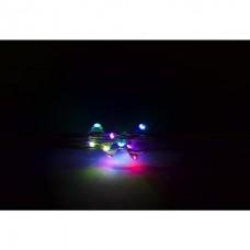 Уличная гирлянда STRING 4W 10метров (RGB разноцветная)