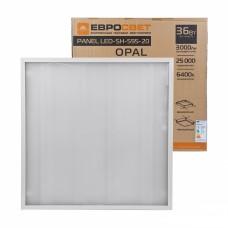 Светодиодная панель LED-SH-595-20 OPAL 36W 6400K