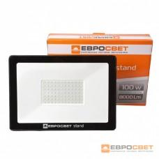 Прожектор світлодіодний ЕВРОСВЕТ EV-100-504 Stand 100вт 8000лм 6400к