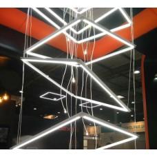 Арт панель светодиодная 600x600 40W 4100K (LED VL-PA404W art panel)
