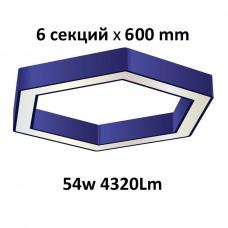 """Светильник светодиодный """"Ромб""""  54W 4320lm"""