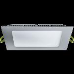 Потолочный аварийный светильник врезной 6W-24W (квадрат)