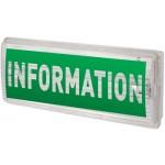Аварийный светильник Information/Информация