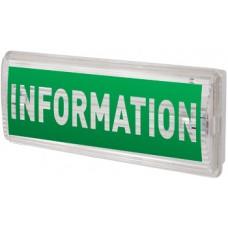 Светильник аварийный Information/Информация