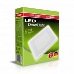 Светильник светодиодный EUROLAMP LED 6W 4000K (белый)