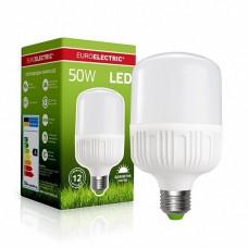 Светодиодная лампа EUROELECTRIC LED высокомощная 50W E40 6500K